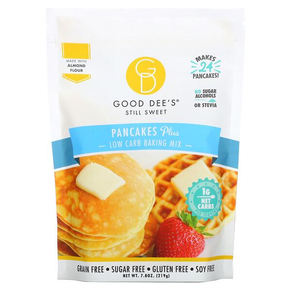 Low Carb Baking Mix, Pancakes Plus, 7.8 oz (219 g)