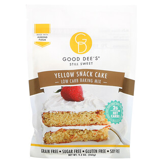 Good Dee's, Low Carb Baking Mix, Yellow Snack Cake, 9.3 oz (263 g)