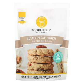 Good Dee's, Low Carb Baking Mix, Butter Pecan Cookie, 8.75 oz (248 g)