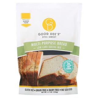 Good Dee's, Low Carb Baking Mix, Multi-Purpose Bread, 9.1 oz (258 g)