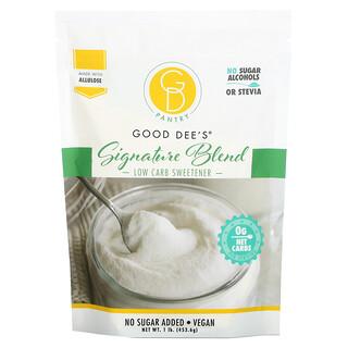 Good Dee's, Low Carb Sweetener, Signature Blend, 1 lb (453.6 g)