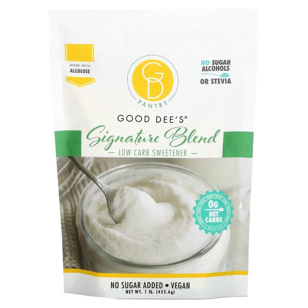 Low Carb Sweetener, Signature Blend, 1 lb (453.6 g)
