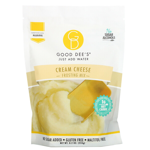 Good Dee's, Frosting Mix, Cream Cheese, 8.2 oz (233 g)