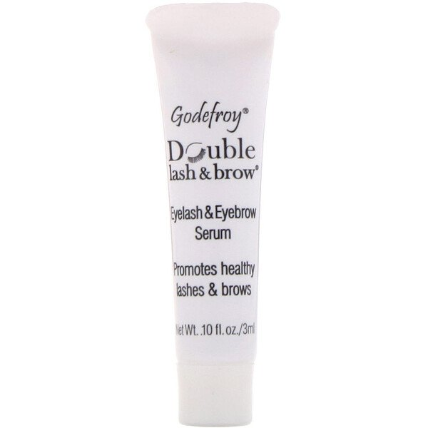 Double Lash & Brow, Eyelash and Eyebrow Serum, 0.1 fl oz (3 ml)