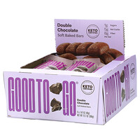 Good To Go, Soft Baked Bars, Double Chocolate, 9 Bars, 1.41 oz (40 g) Each