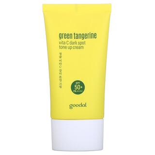 Goodal, Зеленый мандарин, крем с витаминомC, осветляющий темные пятна, SPF 50+ PA++++, 50мл (1,69жидк. унции)