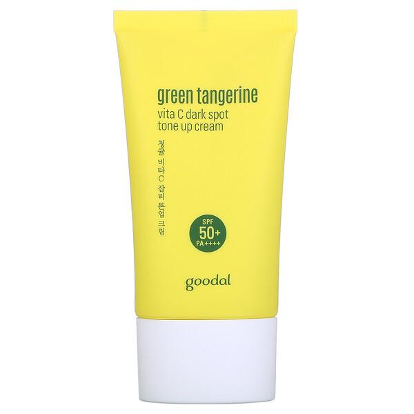 Green Tangerine, Vita C Dark Spot Tone Up Cream, SPF 50+ PA++++, 1.69 fl oz (50 ml)