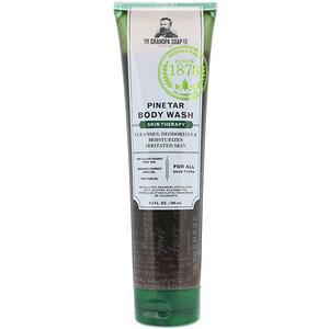 Грэндпа, Pine Tar Body Wash, Skin Therapy, 9.5 fl oz (280 ml) отзывы покупателей