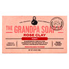 Grandpa's, Face & Body Bar Soap, Purify, Rose Clay, 4.25 oz (120 g)
