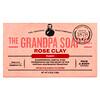 Grandpa's, Jabón para la cara y el cuerpo, purificante, Arcilla rosa, 4.25 oz (120 g)