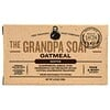Grandpa's, Face & Body Bar Soap, Soothe, Oatmeal, 4.25 oz (120 g)