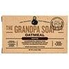 Grandpa's, Jabón para la cara y cuerpo, refrescante, harina de avena, 4.25 oz (120 g)