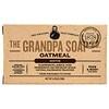 Grandpa's, قطعة صابون للجسم والوجه، مهدئة، بالشوفان، 4.25 أونصة (120 غ)