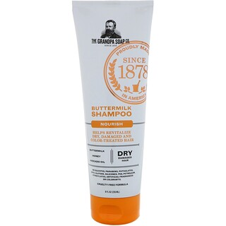 Grandpa's, Buttermilk Shampoo, Nourish, 8 fl oz (235 ml)