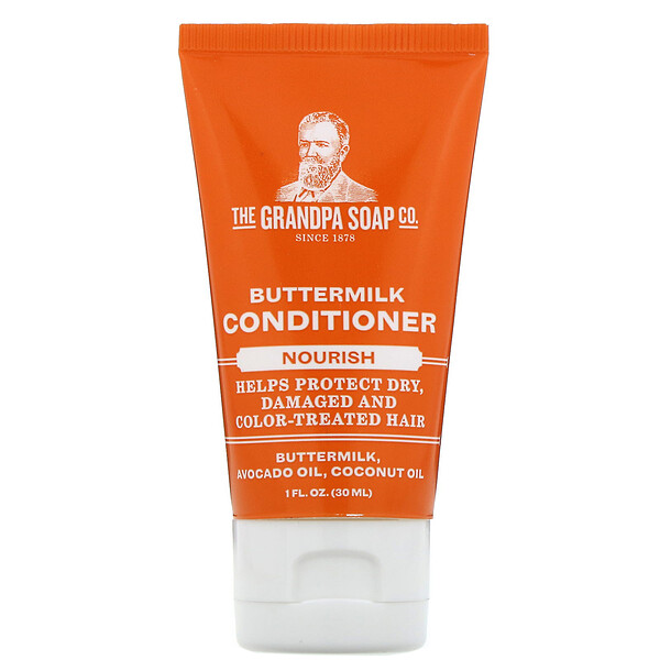 Grandpa's, Buttermilk Conditioner, Nourish, 1 fl oz (30 ml)