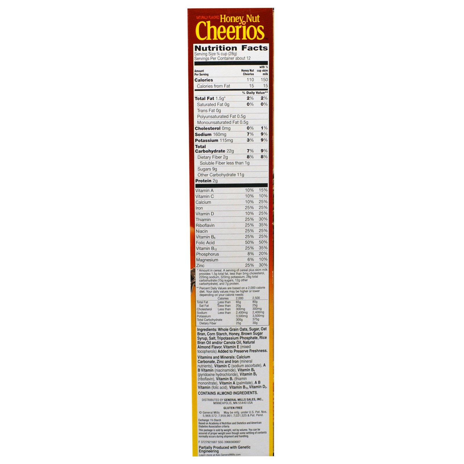 General Mills, Honey Nut Cheerios, 12