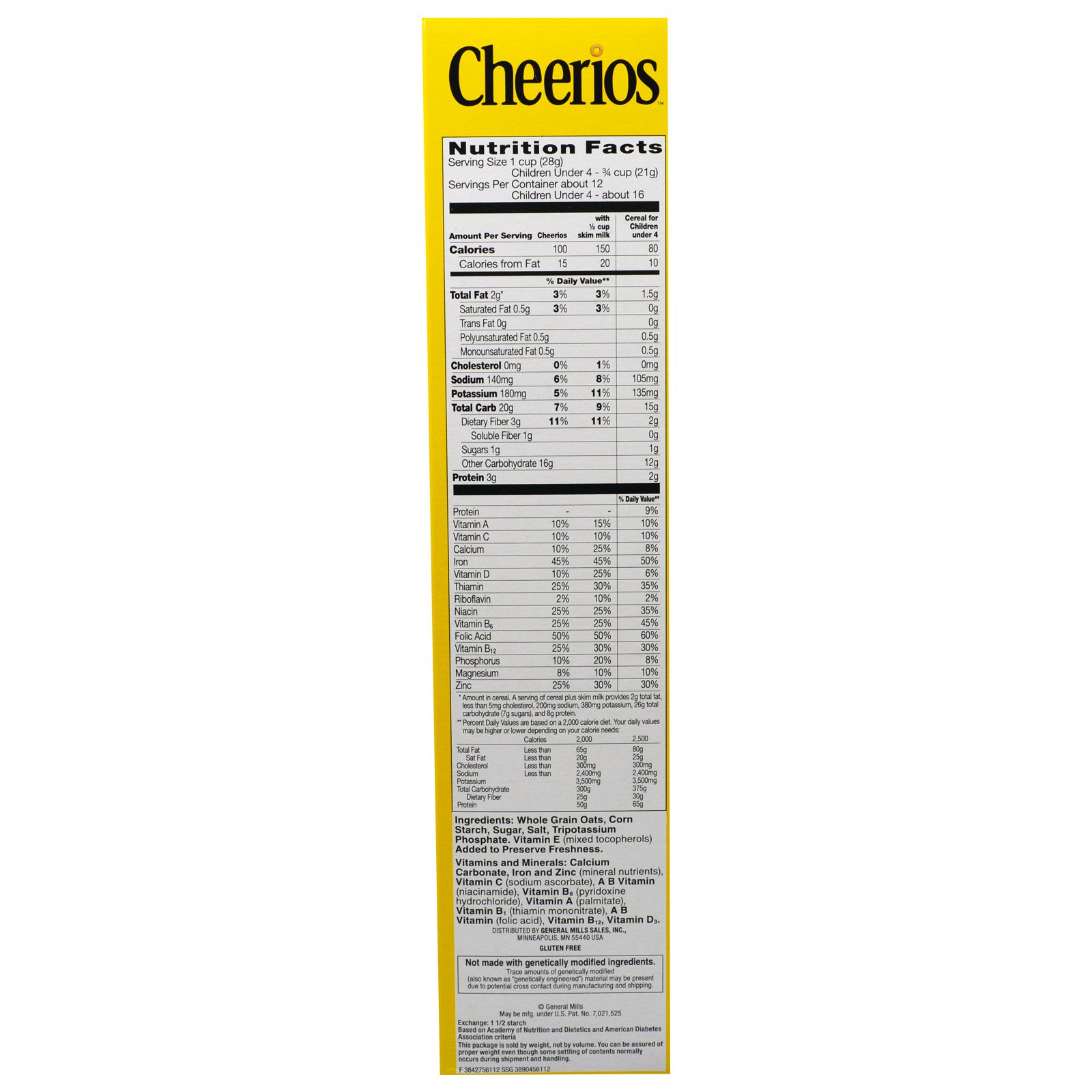 General Mills, Cheerios, 12 oz (340 g