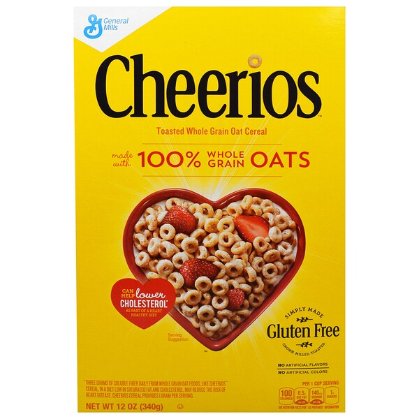 General Mills, Cheerios, 12 onzas (340 g)