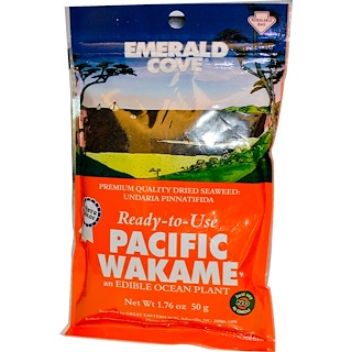 Great Eastern Sun, Emerald Cove, Pacific Wakame, 1.76 oz (50 g)