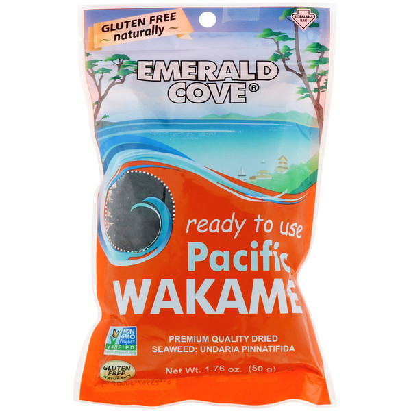 Great Eastern Sun, Emerald Cove, Pacific Wakame, 1.76 oz (50 g) (Discontinued Item)