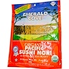 Great Eastern Sun, Emerald Cove, Organic Pacific Sushi Nori, 10 Sheets, .9 oz (25 g)