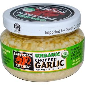 Грэйт Истерн Сан, Organic Chopped Garlic, 4.5 oz (127 g) отзывы