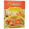 Great Eastern Sun, Mother India Organics, Aloo Matar, Medium Spicy, 10.6 oz (300 g)