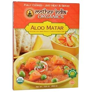 Грэйт Истерн Сан, Mother India Organics, Aloo Matar, Medium Spicy, 10.6 oz (300 g) отзывы