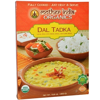 Great Eastern Sun, Mother India Organics, Dal Tadka, Mild Spicy, 10.6 oz (300 g)