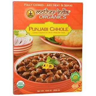 Great Eastern Sun, Mother India Organics, Punjabi Chhole, Hot Spicy, 10.6 oz (300 g)