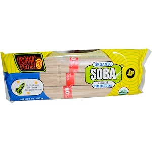 Грэйт Истерн Сан, Organic Planet, Soba Oriental Noodles, 8 oz (227 g) отзывы