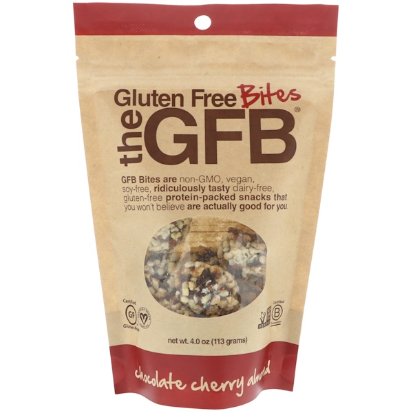 The GFB, Gluten Free Bites, Chocolate Cherry Almond, 4 oz (113 g)