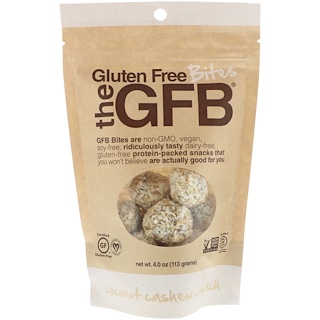 The GFB, Gluten Free Bites, Coconut Cashew Crunch, 4 oz (113 g)