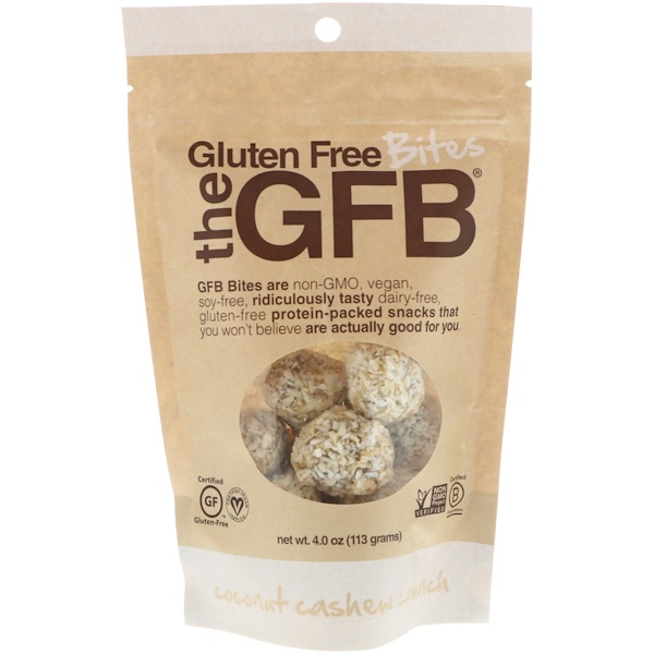 The GFB, 無麩質餅乾,椰子腰果酥脆味,4 盎司(113 克)