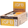 The GFB, ألواح خالية من الجلوتين، زبدة فول سوداني، 12 لوح، 2.05 أوقية (58 جم) لكل لوح
