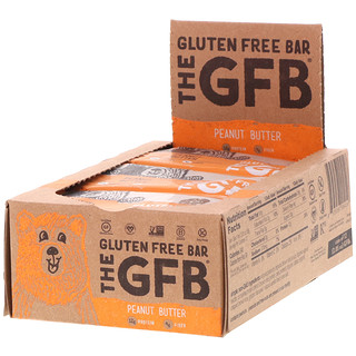 The GFB, Gluten Free Bar, Peanut Butter, 12 Bars, 2.05 oz (58 g)