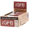 The GFB, Gluten Free Bar, Dark Chocolate + Coconut, 12 Bars, 2.05 oz (58 g) Each