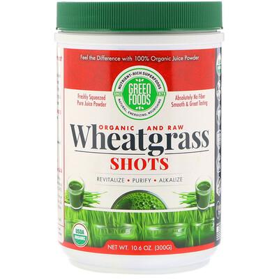 Купить Green Foods Органические сырые ростки пшеницы, 300 г (10, 6 унции)
