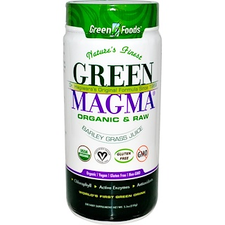 Green Foods Corporation, Green Magma, Barley Grass Juice, 5.3 oz (150 g)