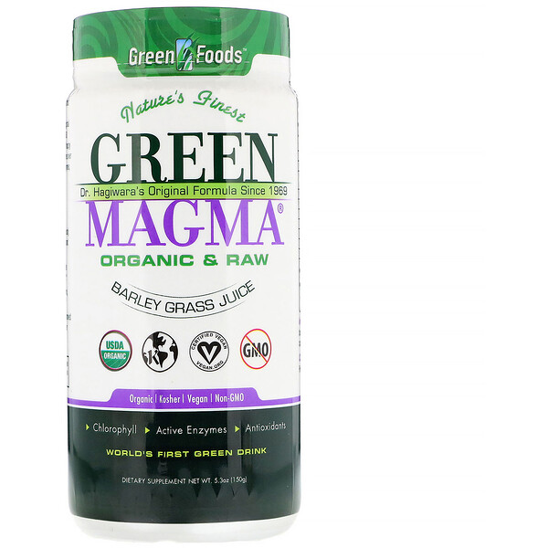Green Magma, Barley Grass Juice, 5.3 oz (150 g)
