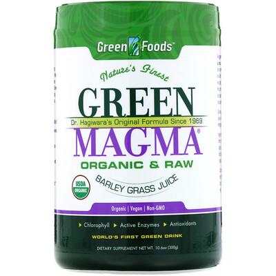 Купить Green Magma, Сок ячменя, 10, 6 унций (300 г)