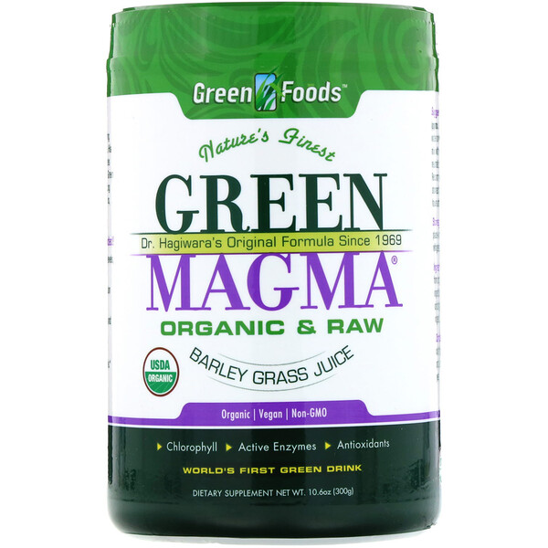 Green Magma, Barley Grass Juice Powder, 10.6 oz (300 g)