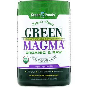 Грин Фудс Корпорэйшн, Green Magma, Barley Grass Juice, 10.6 oz (300 g) отзывы