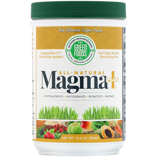 Green Foods, All-Natural Magma Plus, 10.6 oz (300 g)
