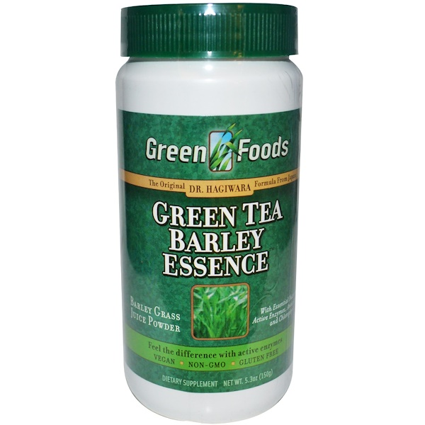Green Foods, Green Tea Barley Essence, 5.3 oz (150 g) (Discontinued Item)