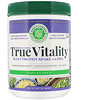 Green Foods , True Vitality, Plant Protein Shake with DHA, Unflavored, 22.7 oz (644 g)