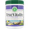 Green Foods Corporation, True Vitality, Plant Protein Shake with DHA, Vanilla, 1.57 lbs (714 g)
