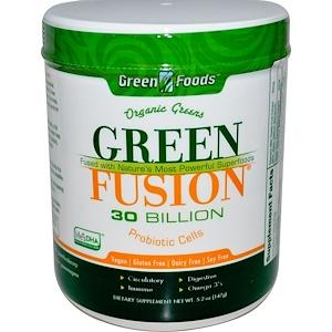 Грин Фудс Корпорэйшн, Organic, Green Fusion, 30 Billion, 5.2 oz (147 g) отзывы