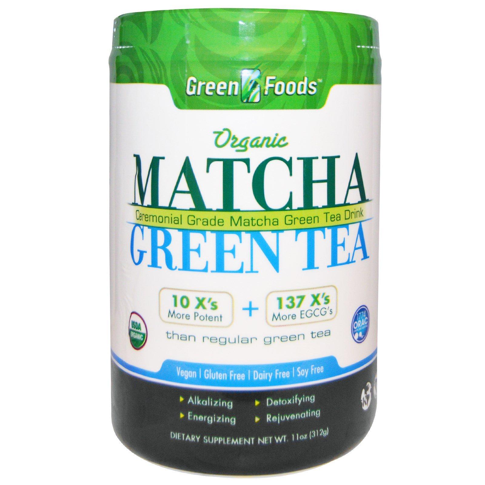 Green Foods Corporation, Organic, Matcha Green Tea, 11 oz (312 g)
