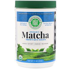 Green Foods , 儀式用抹茶エネルギーブレンド、11 oz (312 g)